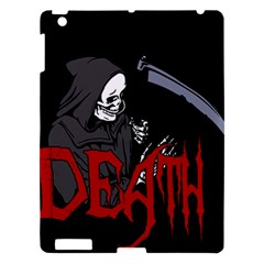 Death   Halloween Apple Ipad 3/4 Hardshell Case by Valentinaart