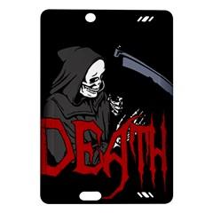 Death   Halloween Amazon Kindle Fire Hd (2013) Hardshell Case by Valentinaart