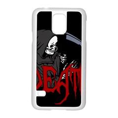 Death   Halloween Samsung Galaxy S5 Case (white) by Valentinaart