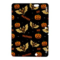 Bat, Pumpkin And Spider Pattern Kindle Fire Hdx 8 9  Hardshell Case by Valentinaart