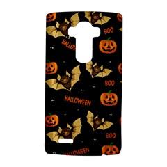Bat, Pumpkin And Spider Pattern Lg G4 Hardshell Case by Valentinaart