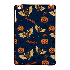 Bat, Pumpkin And Spider Pattern Apple Ipad Mini Hardshell Case (compatible With Smart Cover) by Valentinaart