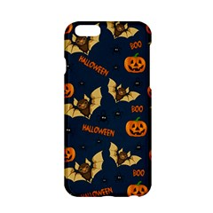 Bat, Pumpkin And Spider Pattern Apple Iphone 6/6s Hardshell Case by Valentinaart