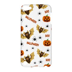 Bat, Pumpkin And Spider Pattern Apple Ipod Touch 5 Hardshell Case by Valentinaart
