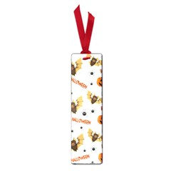 Bat, Pumpkin And Spider Pattern Small Book Marks by Valentinaart