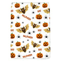 Bat, Pumpkin And Spider Pattern Flap Covers (l)  by Valentinaart
