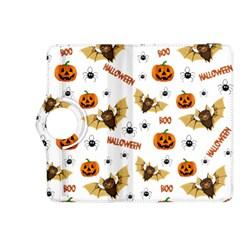 Bat, Pumpkin And Spider Pattern Kindle Fire Hdx 8 9  Flip 360 Case by Valentinaart