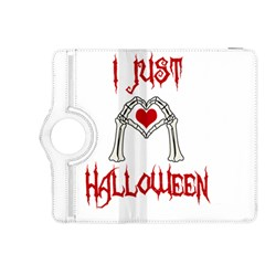 I Just Love Halloween Kindle Fire Hdx 8 9  Flip 360 Case by Valentinaart
