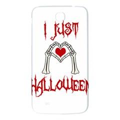 I Just Love Halloween Samsung Galaxy Mega I9200 Hardshell Back Case by Valentinaart