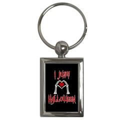 I Just Love Halloween Key Chains (rectangle)  by Valentinaart