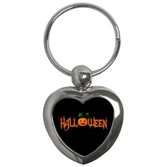 Halloween Key Chains (heart)  by Valentinaart