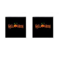 Halloween Cufflinks (square) by Valentinaart