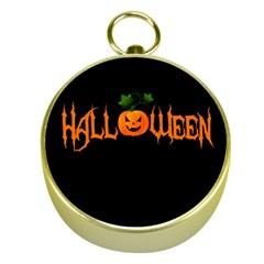 Halloween Gold Compasses by Valentinaart
