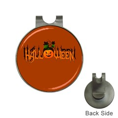 Halloween Hat Clips With Golf Markers by Valentinaart