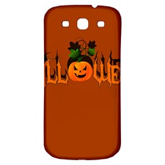 Halloween Samsung Galaxy S3 S Iii Classic Hardshell Back Case by Valentinaart