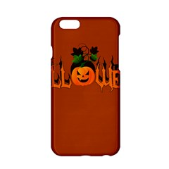 Halloween Apple Iphone 6/6s Hardshell Case by Valentinaart