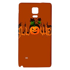 Halloween Galaxy Note 4 Back Case by Valentinaart