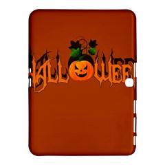 Halloween Samsung Galaxy Tab 4 (10 1 ) Hardshell Case  by Valentinaart