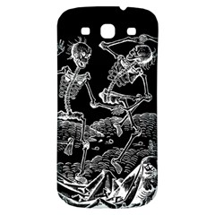 Skeletons   Halloween Samsung Galaxy S3 S Iii Classic Hardshell Back Case by Valentinaart