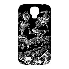 Skeletons   Halloween Samsung Galaxy S4 Classic Hardshell Case (pc+silicone) by Valentinaart