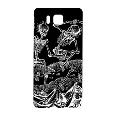 Skeletons   Halloween Samsung Galaxy Alpha Hardshell Back Case by Valentinaart