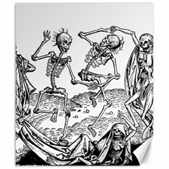 Skeletons   Halloween Canvas 20  X 24   by Valentinaart