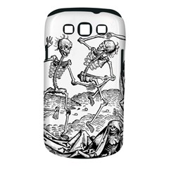 Skeletons   Halloween Samsung Galaxy S Iii Classic Hardshell Case (pc+silicone) by Valentinaart