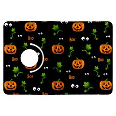 Pumpkins   Halloween Pattern Kindle Fire Hdx Flip 360 Case by Valentinaart