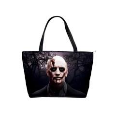 Zombie Shoulder Handbags by Valentinaart