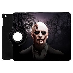 Zombie Apple Ipad Mini Flip 360 Case by Valentinaart