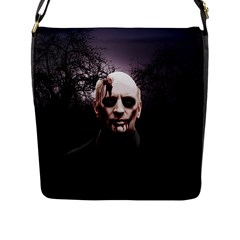 Zombie Flap Messenger Bag (l)  by Valentinaart