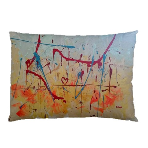 Abstract Pillow By Zohar Rosenbookh   Pillow Case   Jkcuf1jxn3gk   Www Artscow Com 26.62 x18.9 Pillow Case