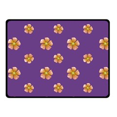 Ditsy Floral Pattern Design Fleece Blanket (small) by dflcprints
