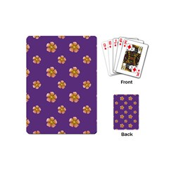 Ditsy Floral Pattern Design Playing Cards (mini)  by dflcprints