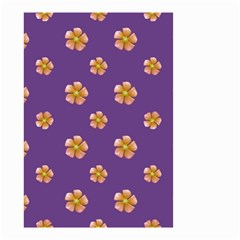 Ditsy Floral Pattern Design Small Garden Flag (two Sides) by dflcprints