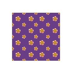 Ditsy Floral Pattern Design Satin Bandana Scarf by dflcprints