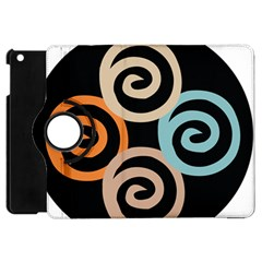 Abroad Spines Circle Apple Ipad Mini Flip 360 Case by Mariart