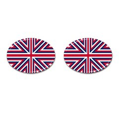 Alternatively Mega British America Cufflinks (oval) by Mariart