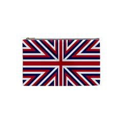 Alternatively Mega British America Cosmetic Bag (small)  by Mariart