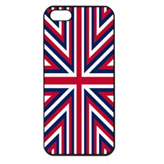 Alternatively Mega British America Apple Iphone 5 Seamless Case (black) by Mariart