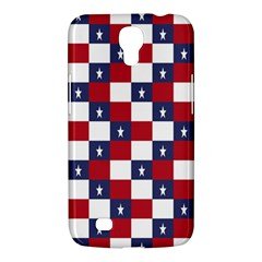 American Flag Star White Red Blue Samsung Galaxy Mega 6 3  I9200 Hardshell Case by Mariart