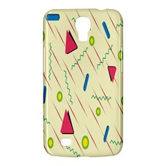 Background  With Lines Triangles Samsung Galaxy Mega 6 3  I9200 Hardshell Case by Mariart