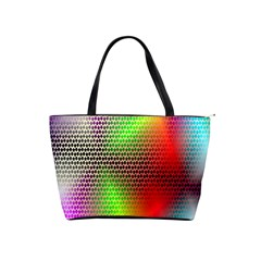 Abstract Rainbow Pattern Colorful Stars Space Shoulder Handbags by Mariart