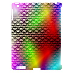 Abstract Rainbow Pattern Colorful Stars Space Apple Ipad 3/4 Hardshell Case (compatible With Smart Cover) by Mariart