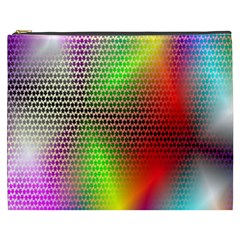 Abstract Rainbow Pattern Colorful Stars Space Cosmetic Bag (xxxl)  by Mariart