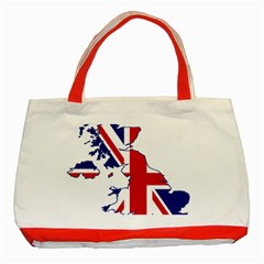 Britain Flag England Nations Classic Tote Bag (red) by Mariart