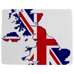 Britain Flag England Nations Jigsaw Puzzle Photo Stand (rectangular) by Mariart
