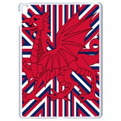 Alternatively Mega British America Red Dragon Apple Ipad Pro 9 7   White Seamless Case by Mariart