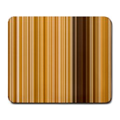 Brown Verticals Lines Stripes Colorful Large Mousepads by Mariart