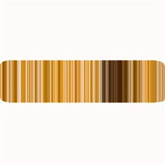 Brown Verticals Lines Stripes Colorful Large Bar Mats by Mariart